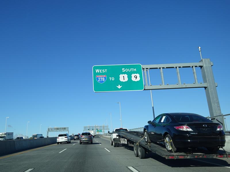 Interstate 278 Goethals Bridge Photo Gallery East