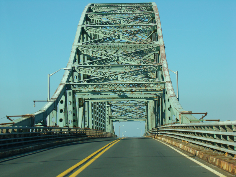 The Northbound Robert Moses Causeway Begins By Leaving Fire Island On This Bridge